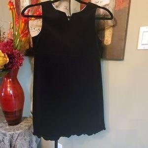 Black Velour Dress by The Gap